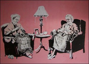 grannies knitting