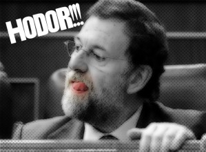 Rajoy hodor