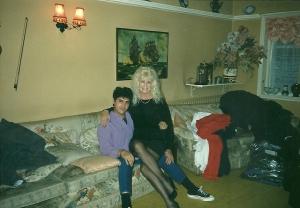 Mrs. Clorane y yo.