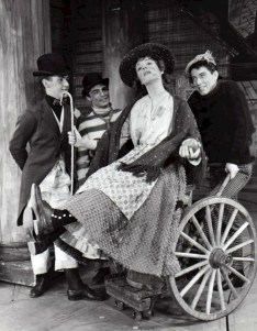 Julie Andrews and cast in My Fair Lady the Musical. Picture courtesy Wikipedia