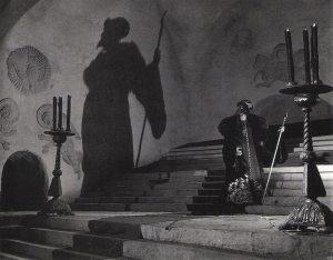 Imagen de Iván el Terrible, Primera Parte (1945), de Serguéi M. Eisenstein