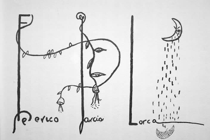 Federicogarcalorca-dibujo
