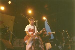 Manu Chao directo Gijón 1990 - El Piles