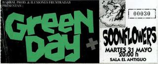 entrada Green Day