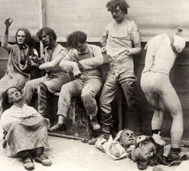 Madame Tussaud's mannequins