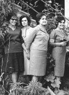 Amigas en Cacabelos años 50